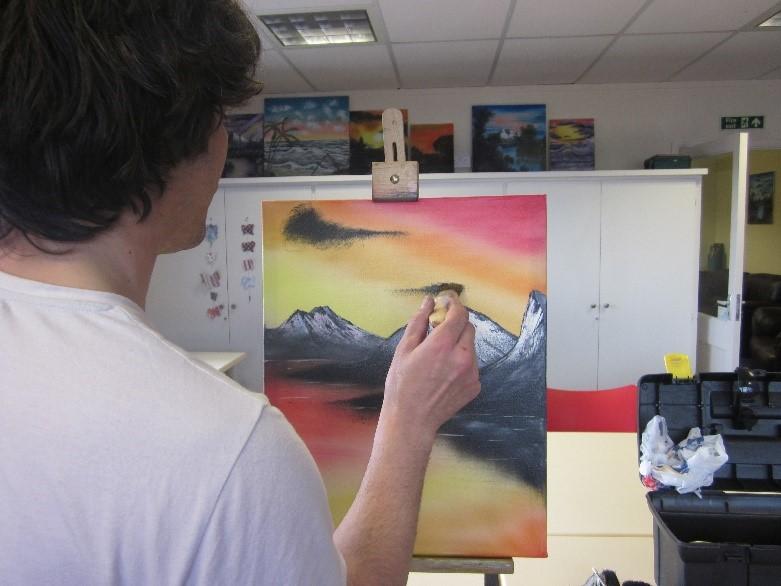 TB painting
